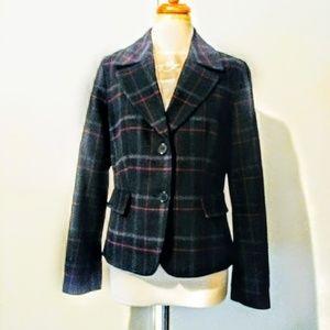 Talbots  plaid jacket
